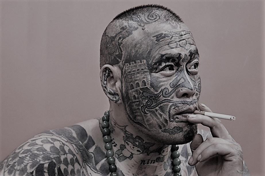 China's Tattoo Man aka Liu Ming