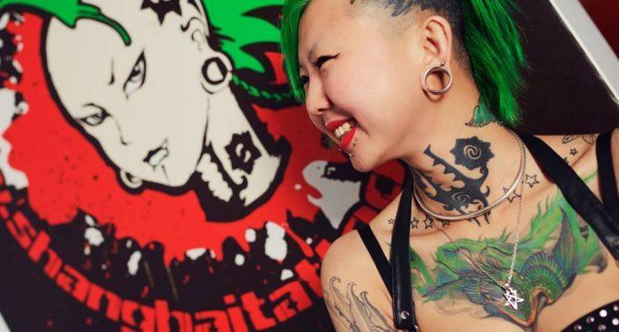 Zhuo Danting from Shanghai Tattoo