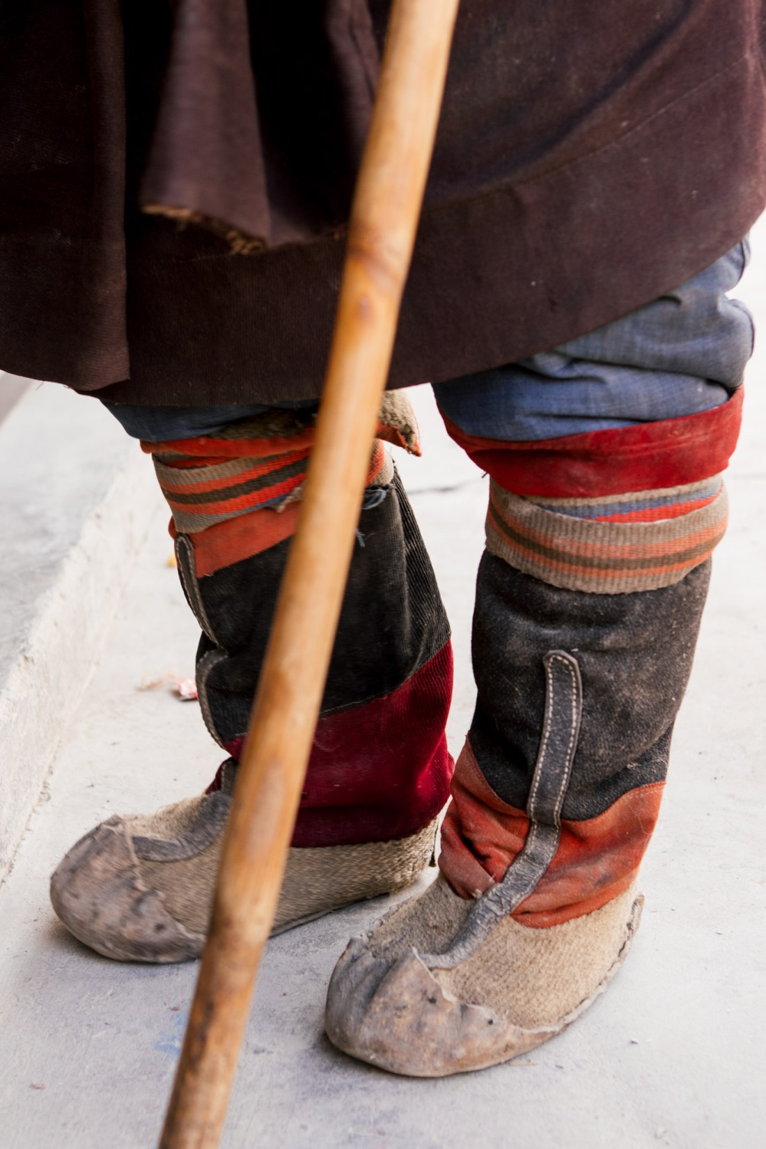 "About Miao Minority (苗族 in Chinese) socks, shoes, and feet, Yunnan province. Photography by Irina Kovalchuk of MOOI Studio Beijing, ""From Far Away,"" 2019. All rights reserved"