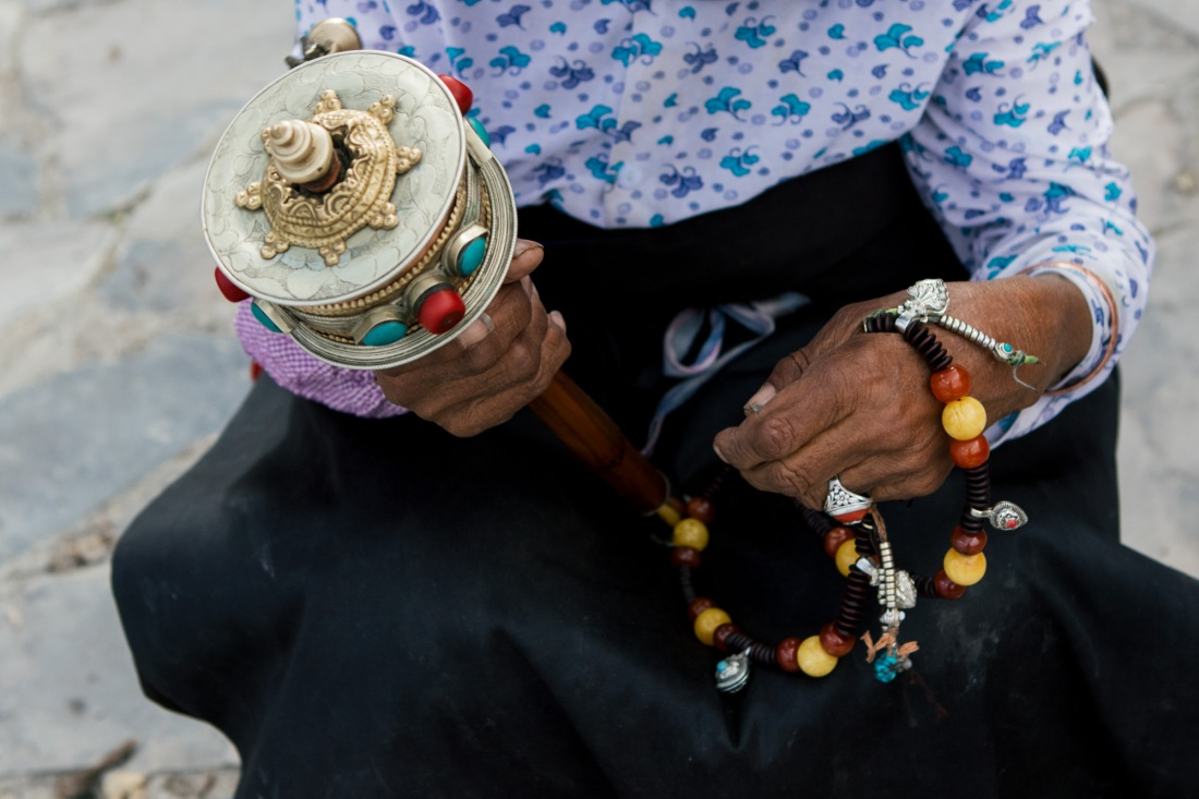 "Bells, beads, and whistles in Qinghai province. Photography by Irina Kovalchuk of MOOI Studio Beijing, ""From Far Away,"" 2019. All rights reserved"
